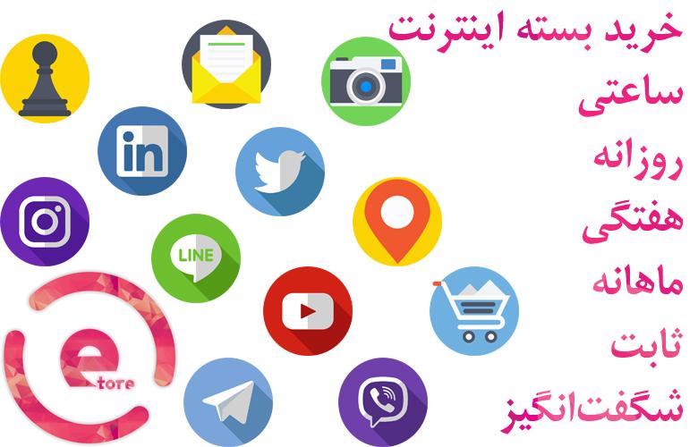 اضافه شدن بخش خرید بسته اینترنت به سایت